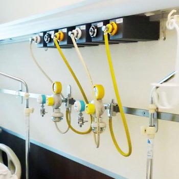 Impianto gas medicale