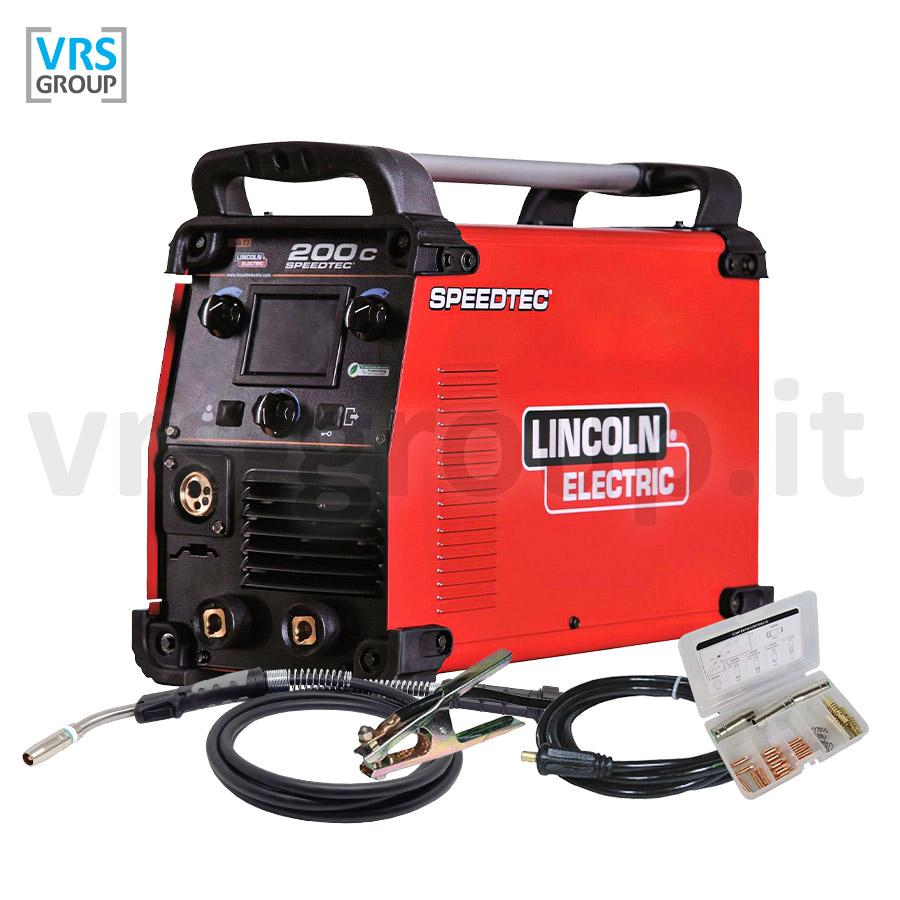 LINCOLN ELECTRIC SpeedTec 200C saldatrice multiprocesso