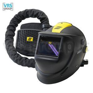ESAB G50 Air maschera autoscurante ventilata per saldatura con unità filtrante PAPR