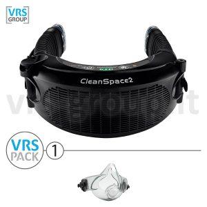 CLEANSPACE2 - VRS PACK 1 - Elettrorespiratore filtrante completo di semimaschera