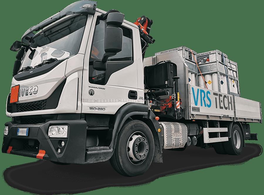 VRS Tech - trasporto ADR bombole ossigeno