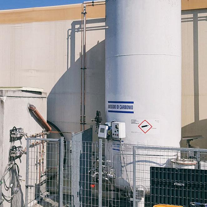 VRS Tech - Impianti gas settore alimentare