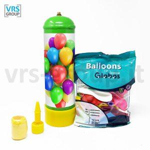 Bombola ELIO usa e getta 2,2Lt. con 30 palloncini