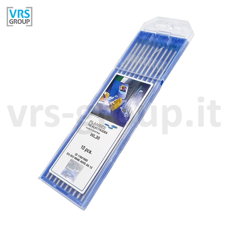 PLANSEE Elettrodi tungsteno WL20 Blu